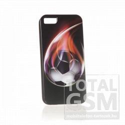 Apple iPhone 5 foci mintás fekete hátlap tok