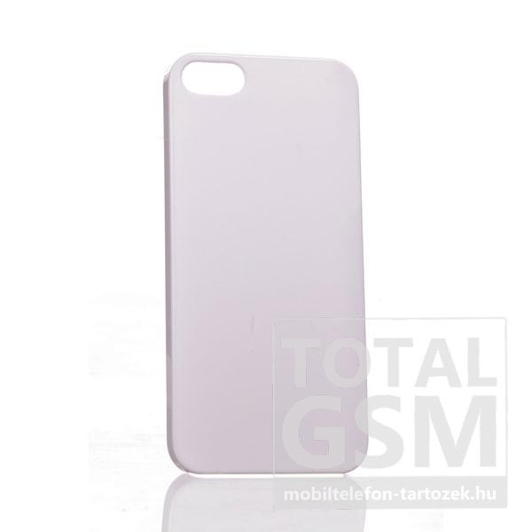 Apple iPhone 5 fehér hátlap tok