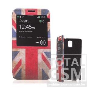 Samsung N9000 Galaxy Note 3 színes flip tok
