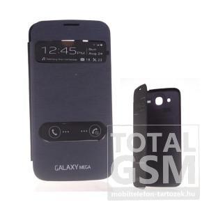Samsung I9152 Galaxy Mega 5.8 fekete flip tok