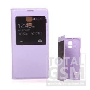 Samsung G900 Galaxy S5 lila flip tok