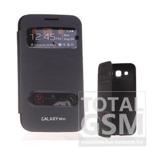 Samsung I8552 Galaxy Win fekete flip tok