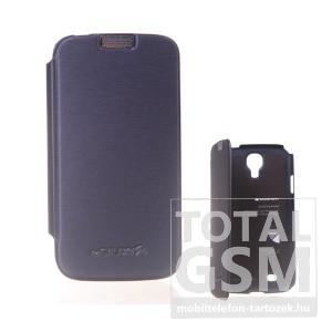 Samsung GT-I9500 Galaxy S4 sötétszürke flip tok