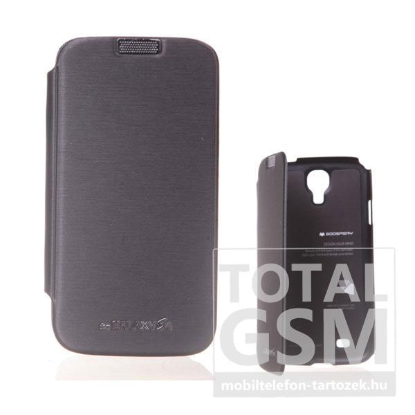 Samsung GT-I9500 Galaxy S4 fekete flip tok