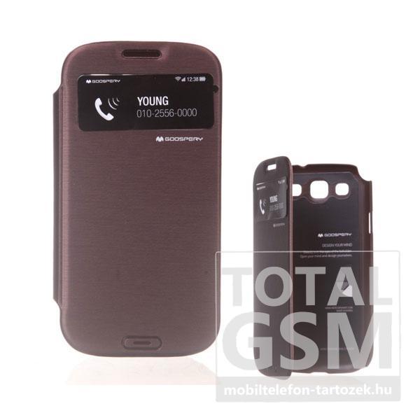 Samsung GT-I9300 Galaxy S3 barna flip tok