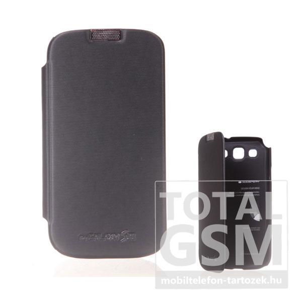 Samsung GT-I9300 Galaxy S3 fekete flip tok