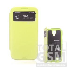 Samsung GT-I9500 Galaxy S4 zöld flip tok
