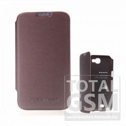 Samsung N7100 Galaxy Note 2 barna flip tok