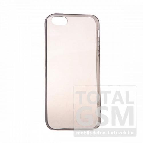 Apple iPhone 5/5S szürke szilikon tok