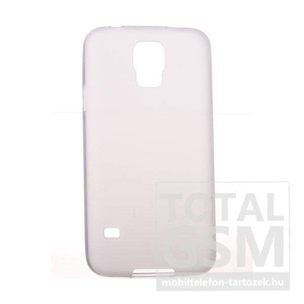 Samsung G900 Galaxy S5 törtfehér szilikon tok
