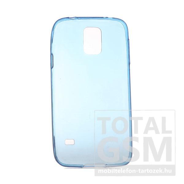 Samsung G900 Galaxy S5 kék szilikon tok