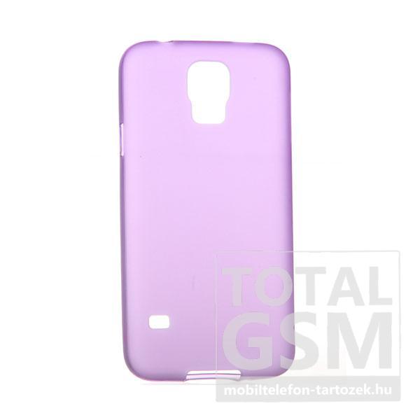 Samsung G900 Galaxy S5 lila szilikon tok