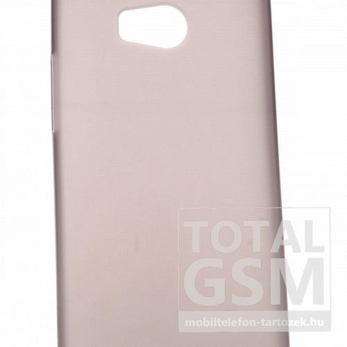 HTC One M8 szürke szilikon tok