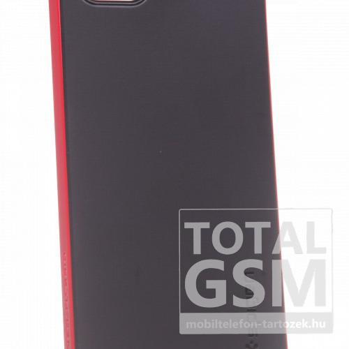 Apple iPhone 5C fekete-piros kemény tok