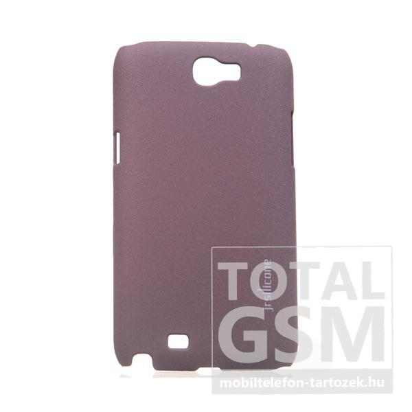 Samsung N7100 Galaxy Note 2 barna kemény tok