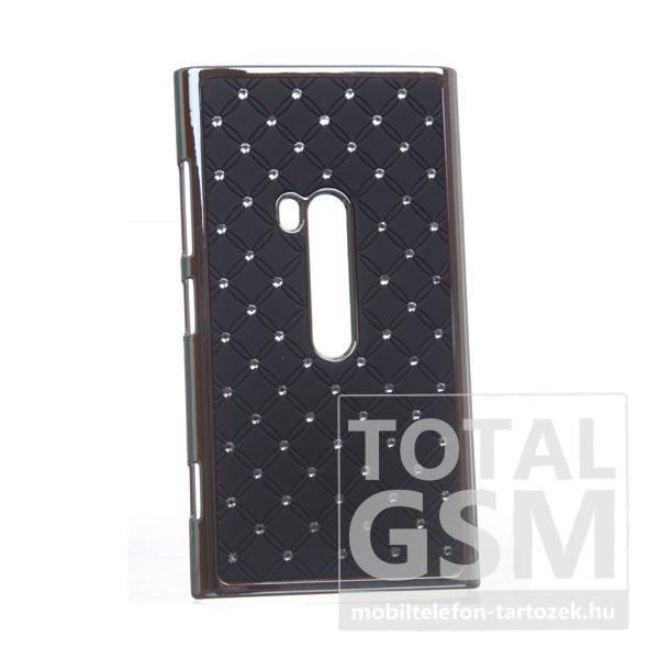 Nokia Lumia 920 ezüst-fekete kemény tok