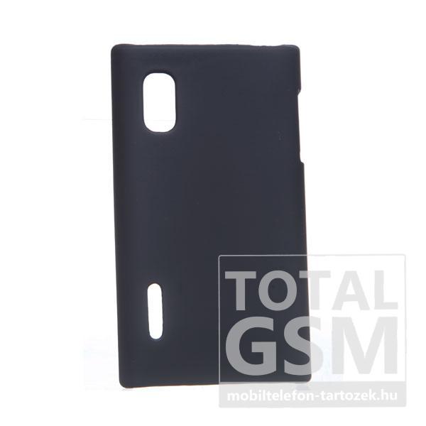 LG E610 Optimus L5 fekete kemény tok
