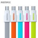 Remax adatkábel mircoUSB narancssárga