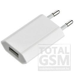 Apple iPhone Fehér Utángyártott Adapter (USB) Töltő Fej