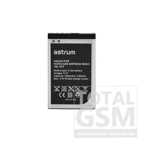 Astrum AN5220 Nokia 6303 Classic / C5-00 BL-5CT kompatibilis akkumulátor 1050mAh