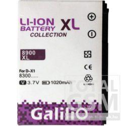 BlackBerry 9500 Storm 1600mAh Li-ion Galilio utángyártott akkumulátor