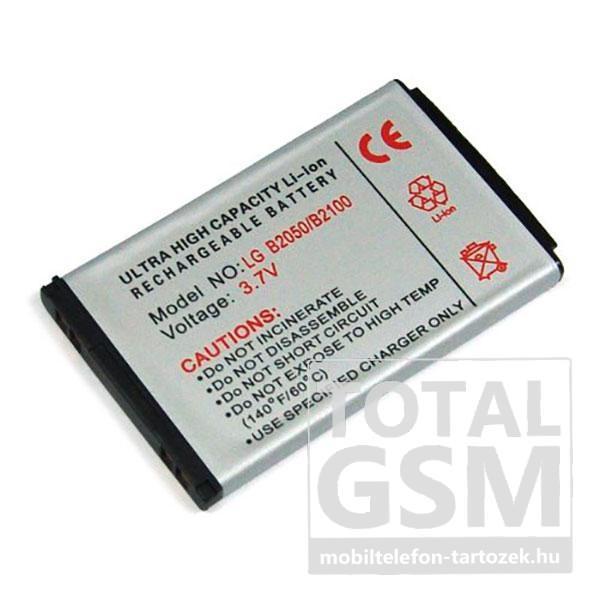 LG B2050 600mAh Li-ion utángyártott akkumulátor