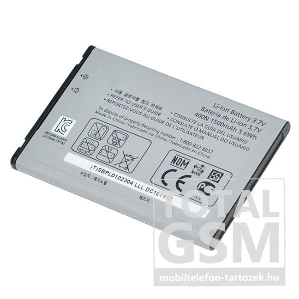 LG GM750 1500mAh Li-ion utángyártott akkumulátor