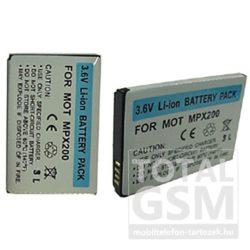 Motorola Mpx 200 800mAh Li-ion utángyártott akkumulátor