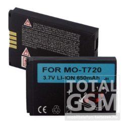 Motorola T720 650mAh Li-ion utángyártott akkumulátor