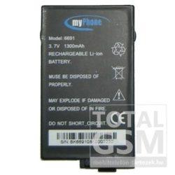Myphone 6691 1300mAh Li-ion utángyártott akkumulátor
