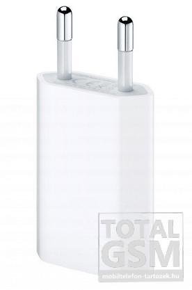 Hálózati adapter gyári Apple USB aljzattal fehér