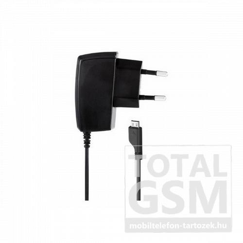 Hálózati töltő gyári Samsung microUSB 700mAh fekete