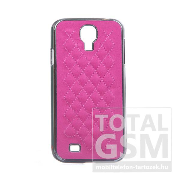 Samsung GT-I9500 Galaxy S4 rózsaszín-ezüst kemény tok