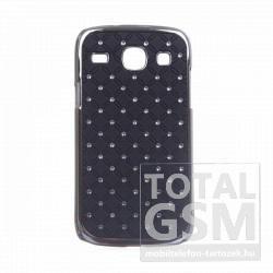 Samsung Galaxy Core GT-I8260/I8262 fekete-ezüst kemény tok