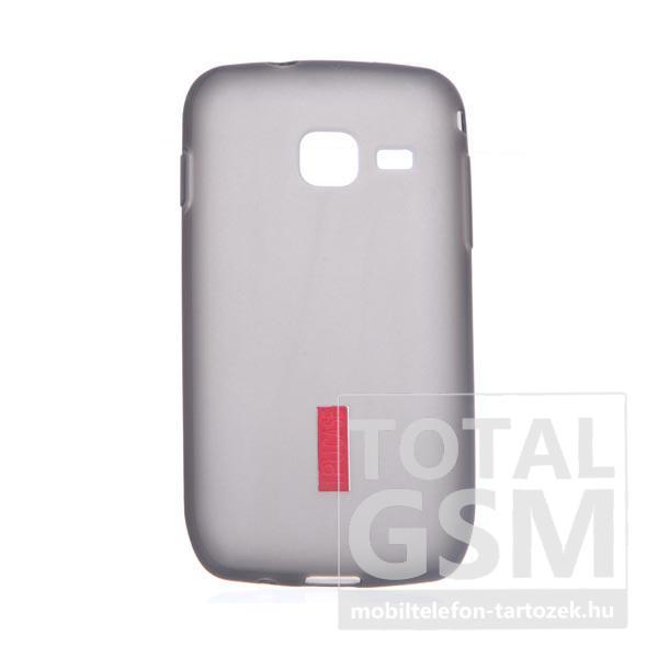 Samsung GT-S5380 Galaxy Wave Y szürke szilikon tok