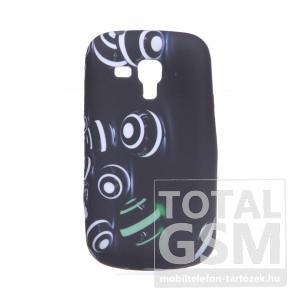 Samsung GT-S7560 Galaxy Trend fekete szilikon tok