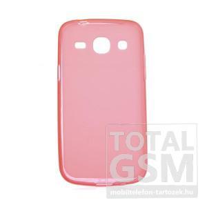 Samsung SM-G3500 Galaxy Core Plus narancssárga szilikon tok