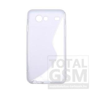 Samsung GT-I9070 Galaxy S Advance átlátszó szilikon tok