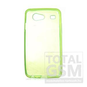 Samsung GT-I9070 Galaxy S Advance világoszöld szilikon tok