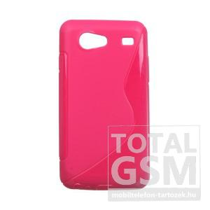 Samsung GT-I9070 Galaxy S Advance ciklámen szilikon tok