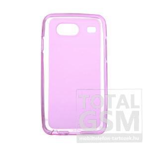 Samsung GT-I9070 Galaxy S Advance rózsaszín szilikon tok