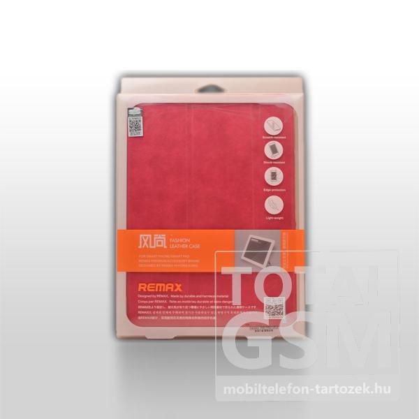 Remax bőrtok Samsung SM-T520 Galaxy Tab Pro 10.1 piros
