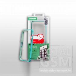 Remax Apple iPhone 5/5S fekete, csatos, bumper kemény tok