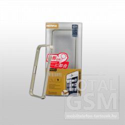 Remax Apple iPhone 5/5S arany, csatos, bumper kemény tok
