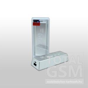 Remax vésztöltő PB-6600, ezüst, 6600 mAh
