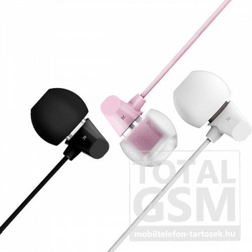 Remax RM-701 Ceramic Headset rózsaszín