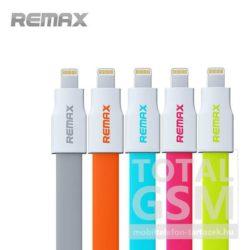 Remax adatkábel Apple iPhone 5 / 5S / 5C / 6 / 6S / 6 Plus / 6S Plus fehér-rózsaszín
