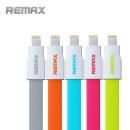 Remax adatkábel Apple iPhone 5 / 5S / 5C fehér-narancssárga