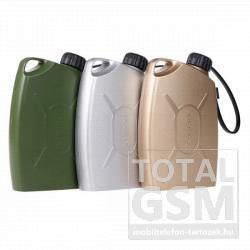 Remax vésztöltő / power bank 6600 mAh zöld