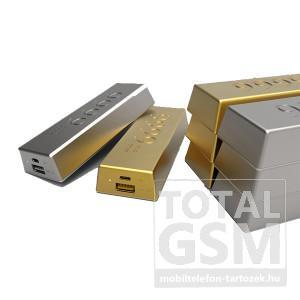 Remax vésztöltő / power bank RM6666 arany